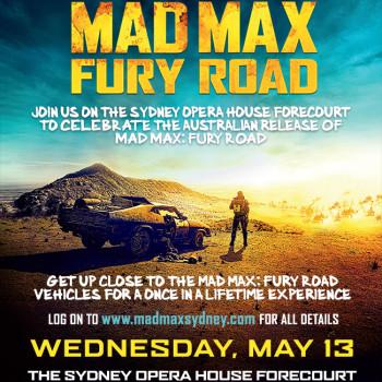 Mad Max Fury Road Flyer